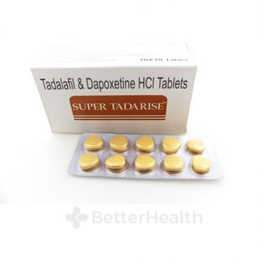 Super Tadarise Box with tablets