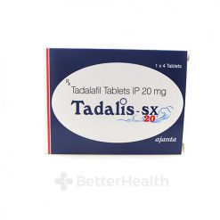 Tadalis SX box front shot